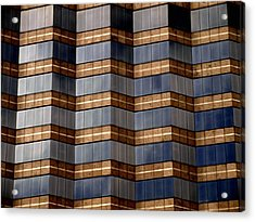 Architecture 2 Acrylic Print by Tom Druin