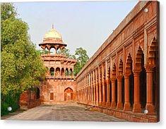 Architecture At Taj Mahal Complex Acrylic Print
