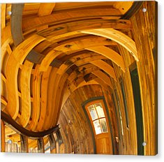 Architecture By Seuss Acrylic Print by Omaste Witkowski