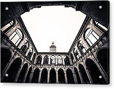 Architecture In Bologna Acrylic Print by Pedro Nunez