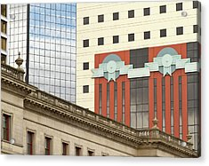 Architecture Of Portland, Oregon Acrylic Print