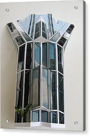 Architecture Resconstruction Acrylic Print by Alfred Ng