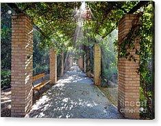 Archway Acrylic Print by George Atsametakis