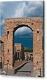 Archway Acrylic Print by Marion Galt