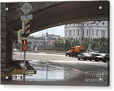 Archway Of Greater Stone Bridge In Moscow I Acrylic Print