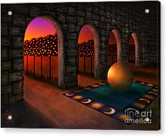 Archway Of Silence Acrylic Print
