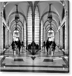 Acrylic Print featuring the photograph Archway Trieste by Graham Hawcroft pixsellpix