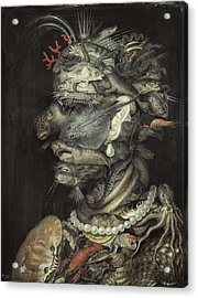Arcimboldo, Giuseppe 1527-1593. Water Acrylic Print by Everett