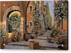 Arco E Arcata Acrylic Print