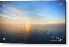 Arctic Colors... Acrylic Print by Nina Stavlund