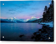 Acrylic Print featuring the photograph Arctic Slumber by Aaron Aldrich