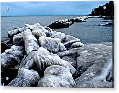 Arctic Waters Acrylic Print by Frozen in Time Fine Art Photography