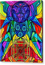 Arcturian Conjunction Grid Acrylic Print