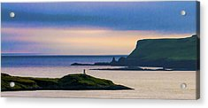 Ardtreck Point Lighthouse Acrylic Print