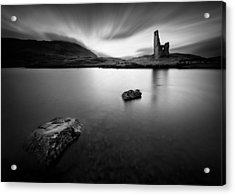 Ardvreck Castle 1 Acrylic Print by Dave Bowman