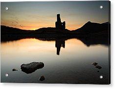Ardvreck Sunset Acrylic Print by Grant Glendinning