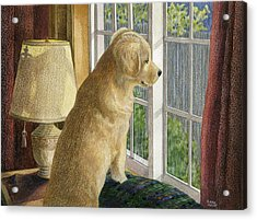 Are They Home Yet? Acrylic Print
