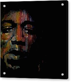 Are You Experienced Acrylic Print by Paul Lovering