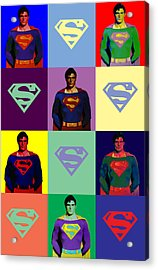 Are You Super? Acrylic Print