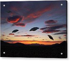 Area 51 Fly Zone Acrylic Print