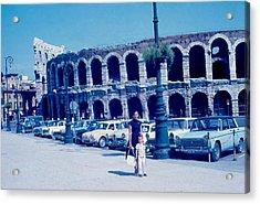 Arena Verona Italy 1962 Acrylic Print by Cumberland Warden