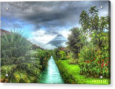 Arenal Acrylic Print by Andrew Nourse