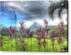 Arenal Volcanoe Acrylic Print