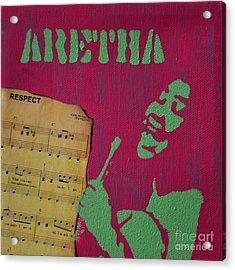 Aretha Acrylic Print