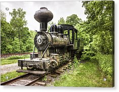 Acrylic Print featuring the photograph Argent Lumber Company Engine No. 4 - Antique Steam Locomotive by Gary Heller
