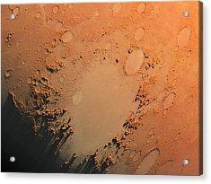 Argyre Impact Basin Acrylic Print