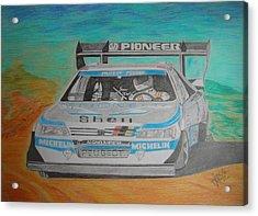 Ari Vatanen Acrylic Print by Jose Mendez