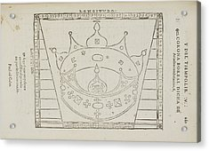 Ariadne Star Constellation Acrylic Print by British Library