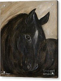 Acrylic Print featuring the painting Arion by Barbie Batson