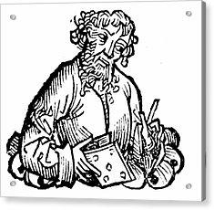 Aristarchos Of Samos Acrylic Print by Universal History Archive/uig