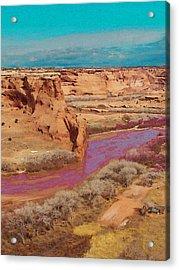 Arizona 2 Acrylic Print