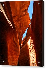 Arizona - Antelope Canyon 008 Acrylic Print