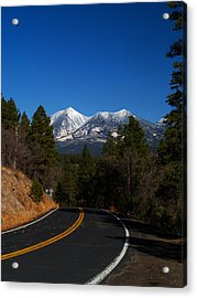 Arizona Country Road  Acrylic Print by Joshua House