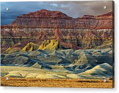 Arizona Landscape In Glen Canyon Acrylic Print