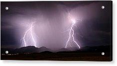 Arizona Lightning Storm Acrylic Print