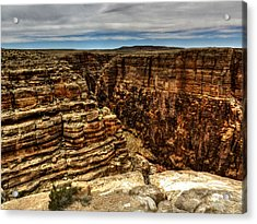 Arizona - Little Colorado River Gorge 005 Acrylic Print by Lance Vaughn