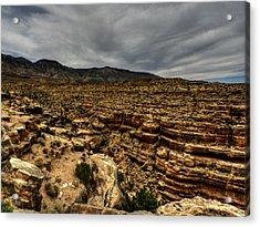 Arizona - Little Colorado River Gorge 006 Acrylic Print by Lance Vaughn