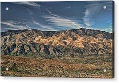 Arizona Lonesome Acrylic Print by Carolyn Fletcher
