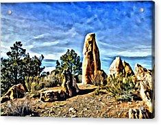 Arizona Monolith Acrylic Print