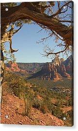 Arizona Outback 5 Acrylic Print by Mike McGlothlen