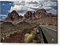 Arizona Road Acrylic Print by Joyce Isas