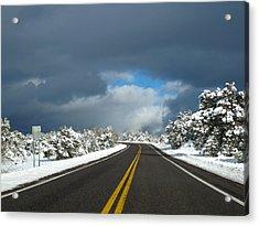 Arizona Snow 1 Acrylic Print