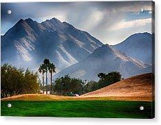 Arizona Sunrise Golfing Acrylic Print