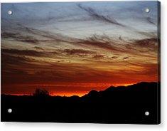 Arizona Sunset Skies Acrylic Print
