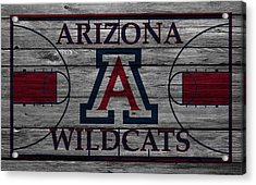 Arizona Wildcats Acrylic Print by Joe Hamilton