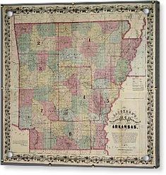 Arkansas Acrylic Print by British Library